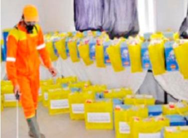Distribution de kits d'hygiène à Aousserd : Les femmes enceintes et les nouveau-nés des communes rurales ciblés