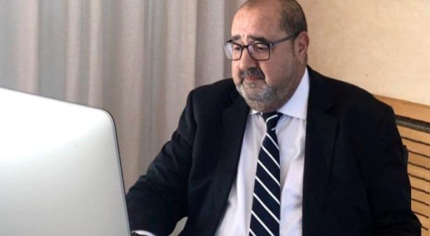 Driss Lachguar lors d'une réunion avec les membres du Conseil national de l'USFP issus de la région de Rabat-Salé-Kénitra