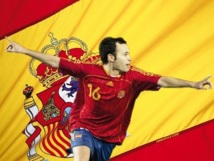 Mondial 2014 : Espagne-France : Andres Iniesta serein