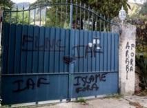 Bastia : Graffitis racistes sur la résidence du consul du Maroc