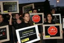 Organisé par Amnesty International : Sit-in pour l'abolition de la peine de mort devant le Parlement