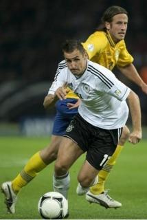 Klose et Ibrahimovic, duel de géants