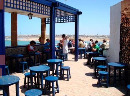 Les associations Ribat Al Fath et Rabat Salé : Mémoire s'expriment sur la restauration du Café Maure