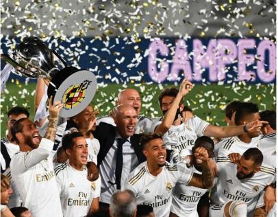 Le Real s'offre son 34ème titre de champion d'Espagne
