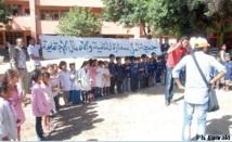 Grâce notamment à l'Association Amal Smara : L'école publique Al Maâri repeinte bénévolement à neuf