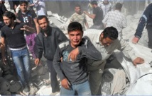 Brahimi toujours à la recherche d'une trêve en Syrie : L'armée largue des bombes à sous-munitions