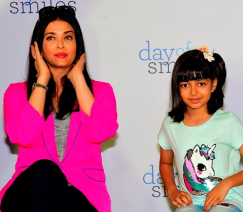 La star de Bollywood Aishwarya Rai hospitalisée avec sa fille