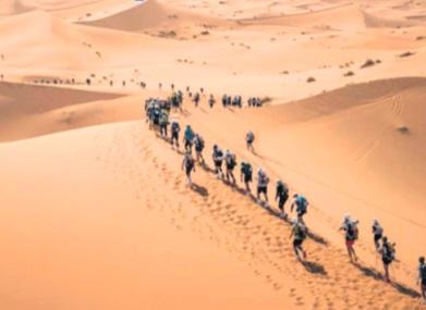 Report de la 35ème édition  du Marathon des sables