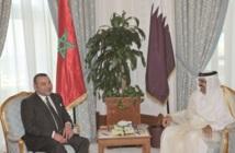 Entretiens à Doha entre S.M le Roi et l'Emir de Qatar
