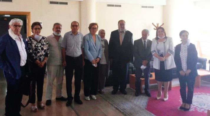 Le Premier secrétaire de l'USFP s'entretient avec une délégation de la Coalition marocaine contre la peine de mort