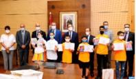 Le MEN célèbre les lauréats du  tournoi de sport scolaire à distance