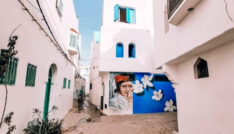 Asilah,  une galerie  à ciel  ouvert