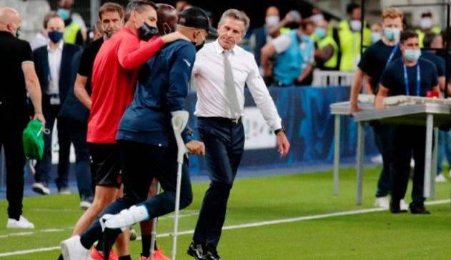 Coup dur pour le PSG Blessé, Mbappé risque d'être out pour la Ligue des champions