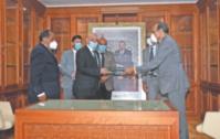 Le président de la Chambre des représentants s'entretient avec son homologue libyen