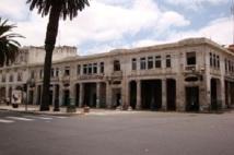 Boulevard Mohammed V à Rabat :  Diable de temps qui fait ce qu'il lui plaît
