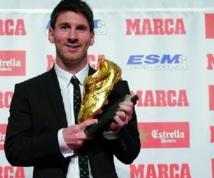 """Le Soulier d'Or pour Messi : """"C'est une fierté  d'être si près de Pelé"""""""