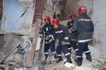Deux morts  dans l'effondrement d'une maison à Casa