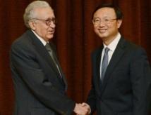 Brahimi à Pékin : Pour un rôle plus actif de la Chine en Syrie