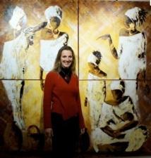 Exposition : «Ombre et Lumière» de Johanna, l'artiste de Merzouga