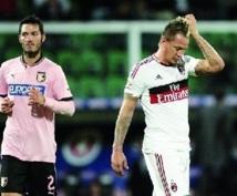 Calcio : Milan force le nul à Palerme
