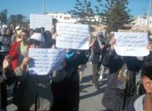 Essaouira : Sit-in devant l'administration des biens makhzéniens et le tribunal de première instance