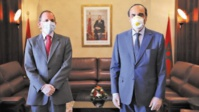 Le président de la Chambre des représentants reçoit l'ambassadeur de Grande-Bretagne à Rabat
