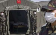 Sur Hautes instructions Royales : Mise en place d'un hôpital militaire de campagne à Beyrouth
