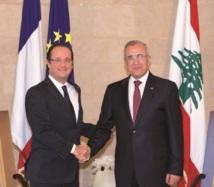 Arrivée du président Hollande à Beyrouth : Soutien de la France au Liban menacé par la crise syrienne