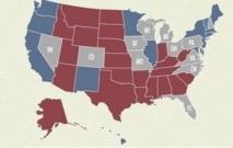 """""""Swing States"""" : Ces Etats qui détermineront l'issue de la présidentielle américaine"""