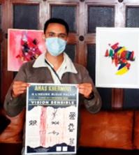 """Le jeune artiste Anas Khermoui expose sa """"Vision sensible"""" à Essaouira"""