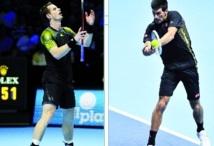 Masters de Londres : Débuts victorieux de Djokovic et Murray