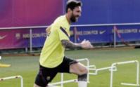 Messi s'est entraîné normalement avant le Bayern