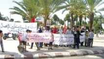 Safi : Handicapés et Amicale du quartier Al Massira protestent devant la province