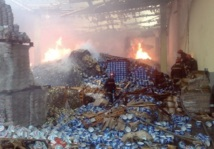 Pas de victimes mais d'importants dégâts matériels : Incendie dans une usine à Casablanca