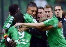 Ligue 1: Saint-Etienne sur le podium