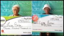 Insolite : Une grand-mère a gagné deux fois au loto en trois mois
