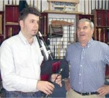 Le Ché de Cabaños et Héctor Braga au Cervantès : De la musique folklorique asturienne à Casablanca