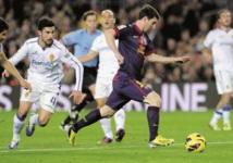 Liga  : Le Real Madrid brille Le Barça se repose sur Messi