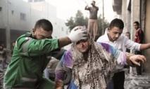 L'offensive meurtrière de l'armLe Maroc au chevet des victimes de la barbarie sioniste : Israël poursuit ses massacres à Gaza