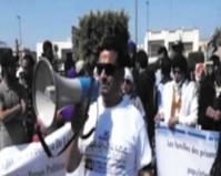 Le prétendu directeur de cabinet d'un pseudo-ministre  du Polisario menace de tuer un associatif handicapé