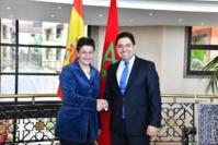 Nasser Bourita s'entretient avec son homologue espagnole