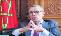 Mohamed Ameur : La présence en Belgique d' une forte communauté d' origine marocaine est une chance pour les deux pays