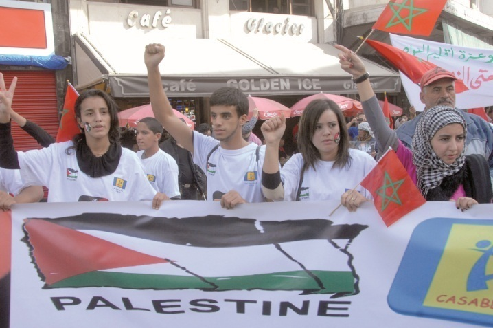 Des milliers de manifestants à Rabat et à Casablanca : Les Marocains ont marché pour Gaza