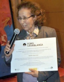 Foro Casablanca 2012 : Hommage à l'artiste Malika Agueznay