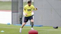 Retour à l'entraînement, retour au bercail pour Lionel Messi