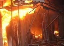 Dix-sept baraques ravagées par un incendie à Sidi Bernoussi