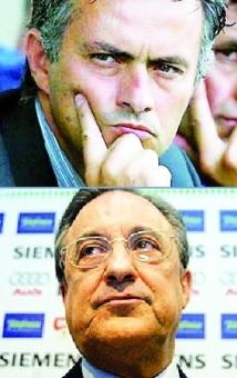 """Mourinho a """"une très bonne relation personnelle"""" avec Perez"""