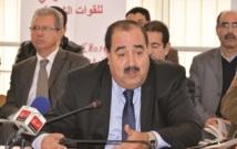 Driss Lachgar lors d'une conférence de presse au siège du parti à Rabat : «L'USFP a besoin d'une direction combative et indépendante dans ses prises de position»
