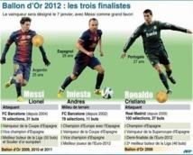 Ballon d'or : Messi, Ronaldo, Iniesta: encore un clasico !