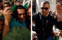 Karim Tabbou et Khaled Drareni, deux symboles du combat pour la liberté d' opinion en Algérie